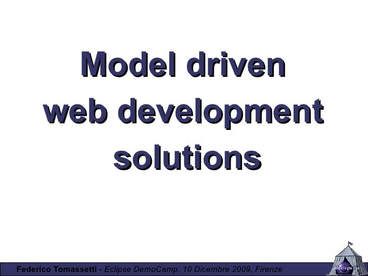 Model Driven Web Development Solutions