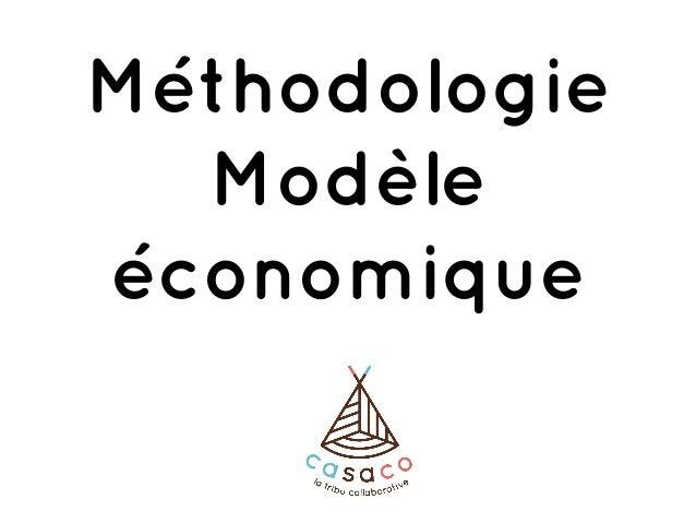Méthodologie Modèle économique