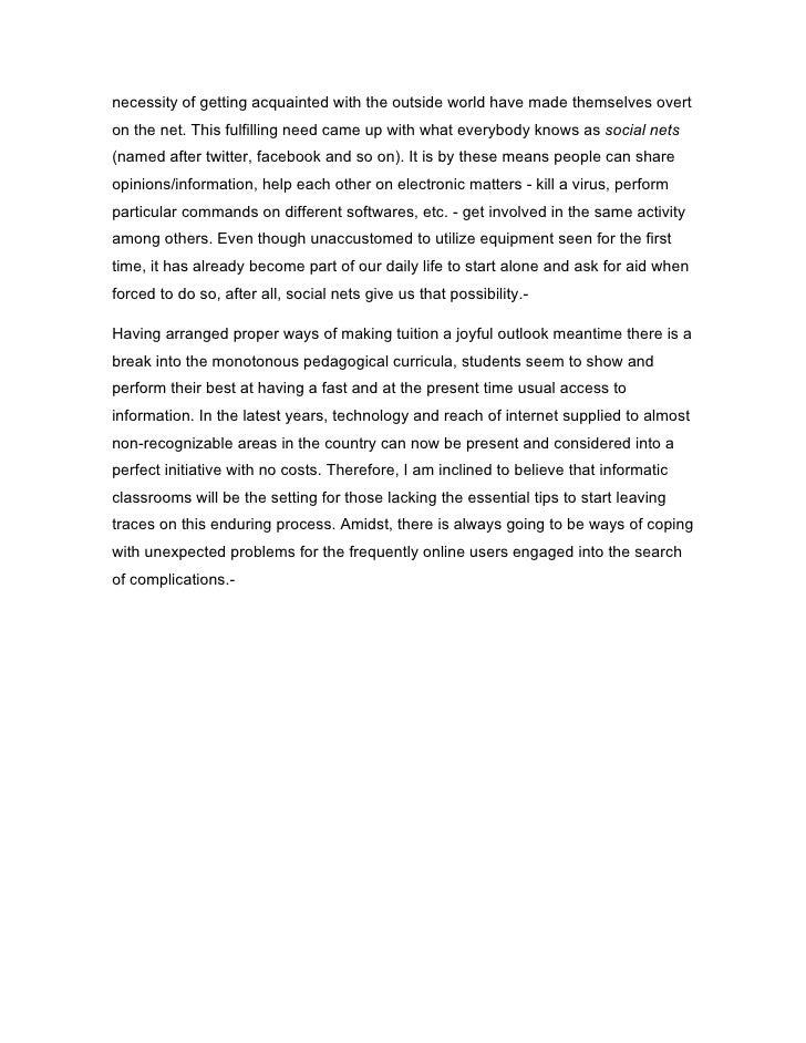 Distribution essay