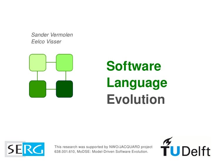 Software Language Evolution