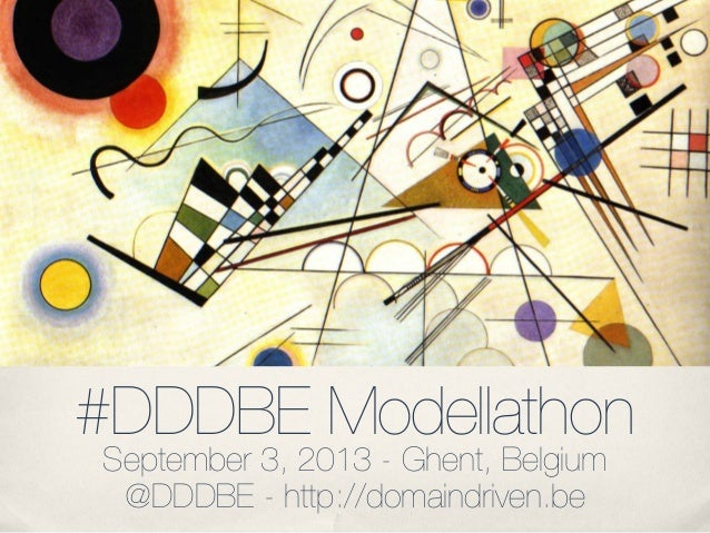 DDDBE Modellathon 2013