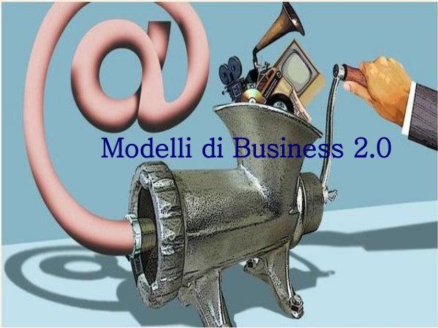 Modelli di business 2.0