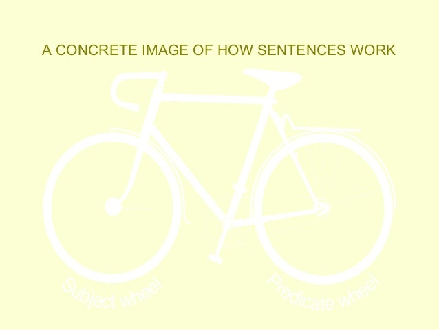 Modeling for sentence structure