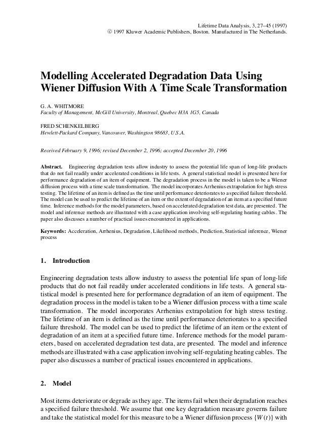 Lifetime Data Analysis, 3, 27–45 (1997)                                c 1997 Kluwer Academic Publishers, Boston. Manufact...