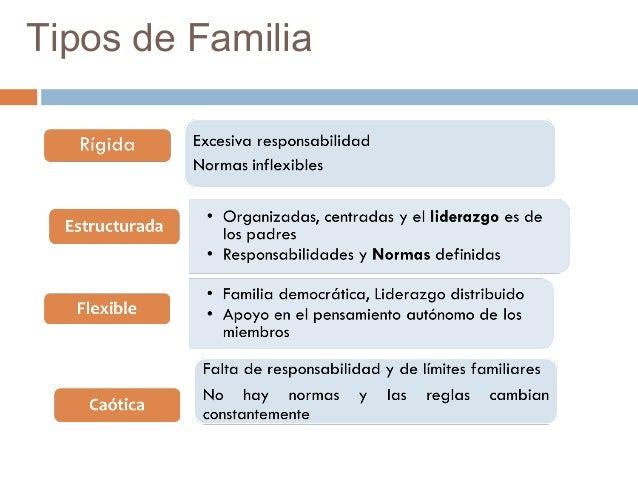Modelo de olson for Tipos de familia pdf