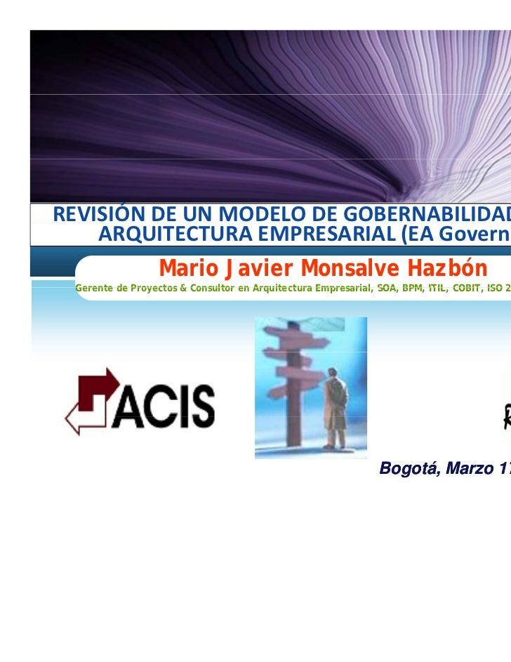 Modelo gobernabilidad-arquietectura-empresaral-raginwald