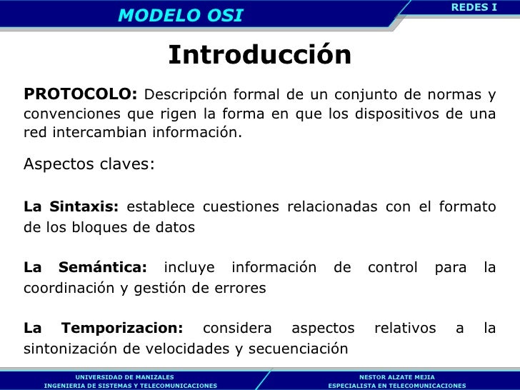 Introducción PROTOCOLO:  Descripción formal de un conjunto de normas y convenciones que rigen la forma en que los disposit...