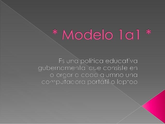 A principios del 2005, Nicholas Negroponte impulsó el proyecto del modelo 1a1, para que cada niño cuente con una pc portát...