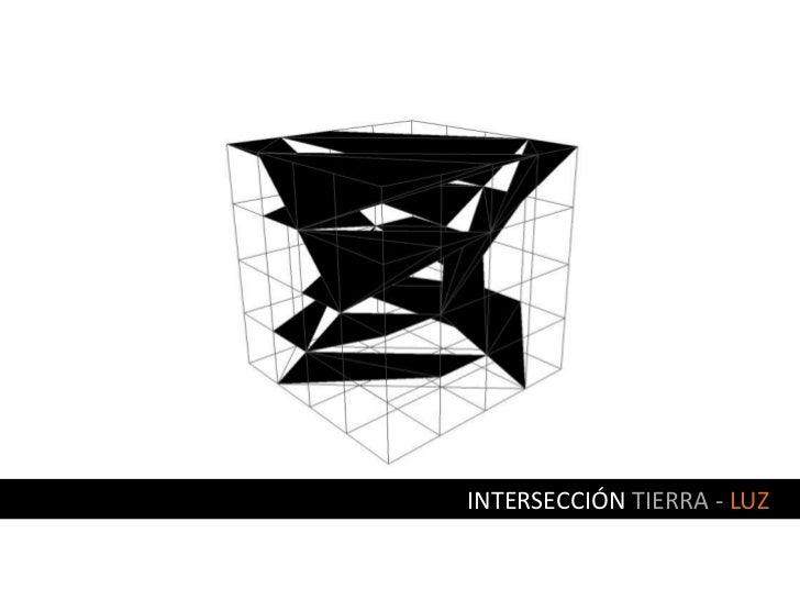 INTERSECCIÓN TIERRA - LUZ<br />