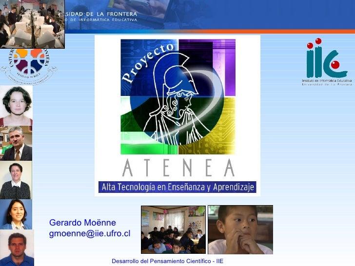 Gerardo Moënne [email_address]