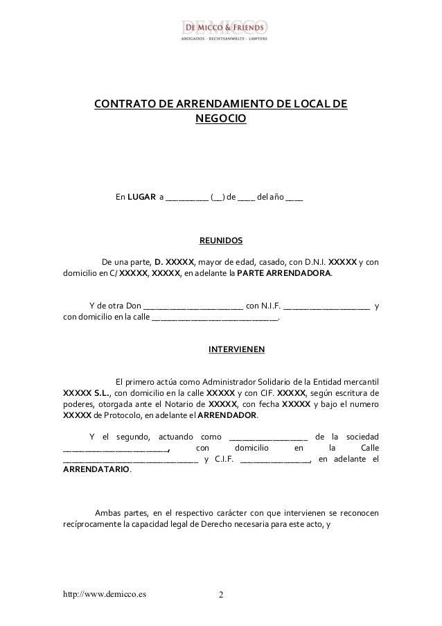 Contrato de arrendamiento de vivienda 2016 contrato de for Modelo contrato alquiler vivienda sencillo