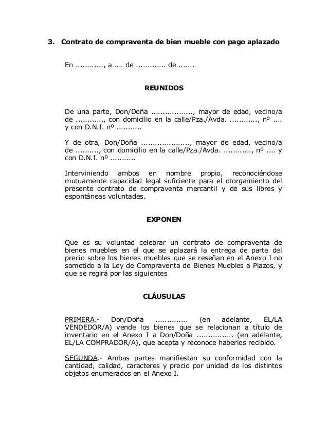 Modelo contrato compraventa_bien_mueble_pago_aplazado