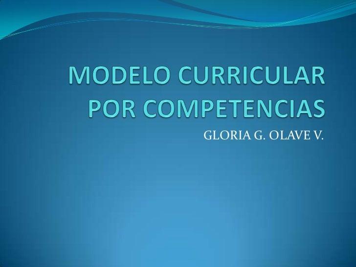 GLORIA G. OLAVE V.