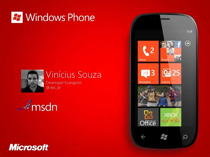 Windows Phone 7 (mango) - Modelo de execução