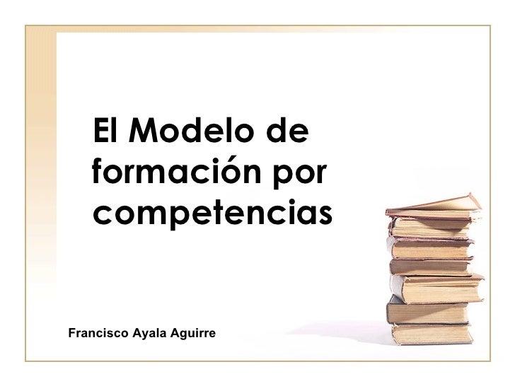 Modelo de formacion de competencias