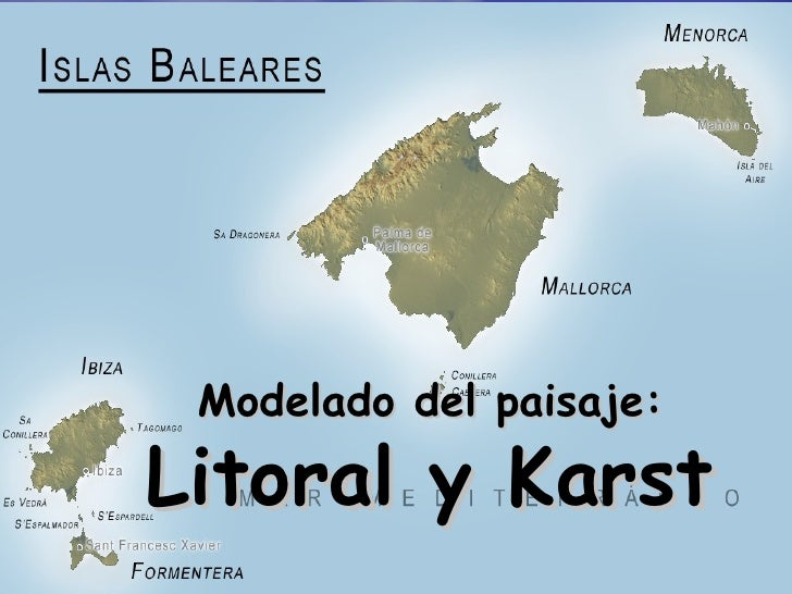 Modelado del paisaje: Litoral y Karst
