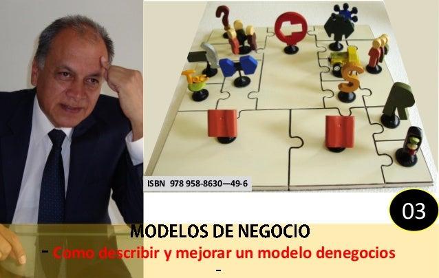 ISBN 978 958-8630—49-6                                                03Como describir y mejorar un modelo denegocios