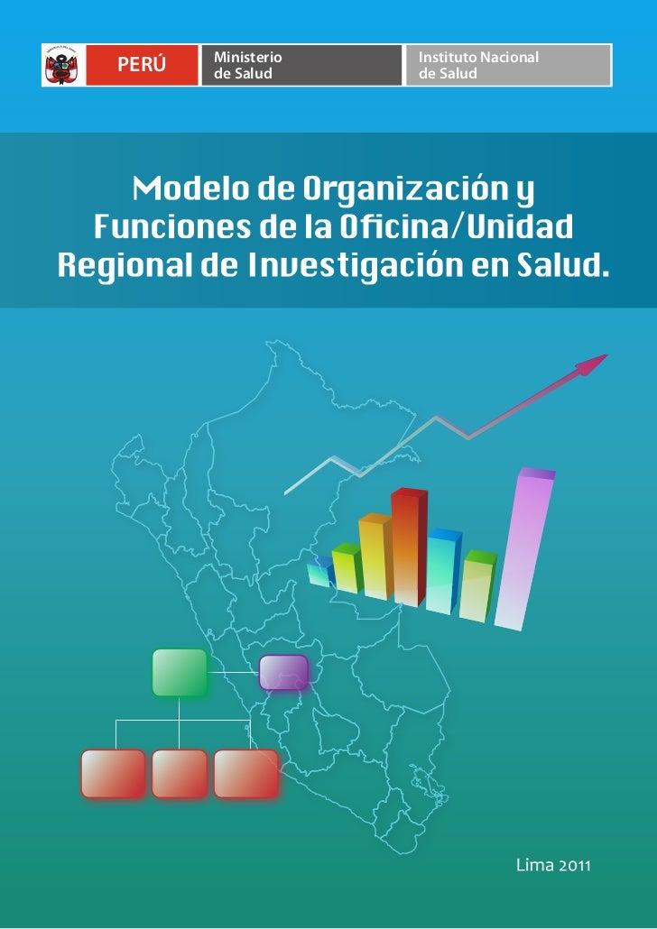 Ministerio   Instituto NacionalPERÚ   de Salud     de Salud
