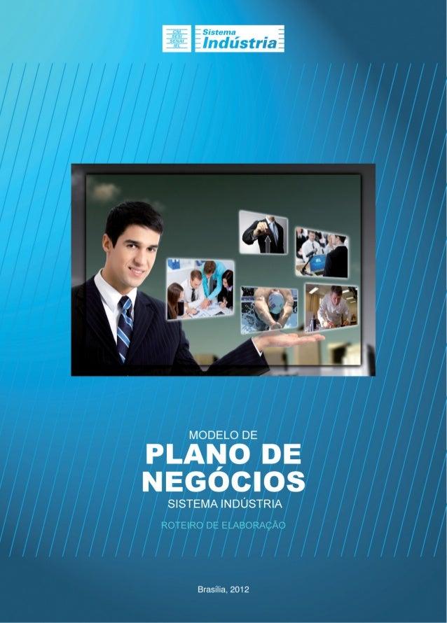 Modelo de Plano de Negócios do Sistem Indústria