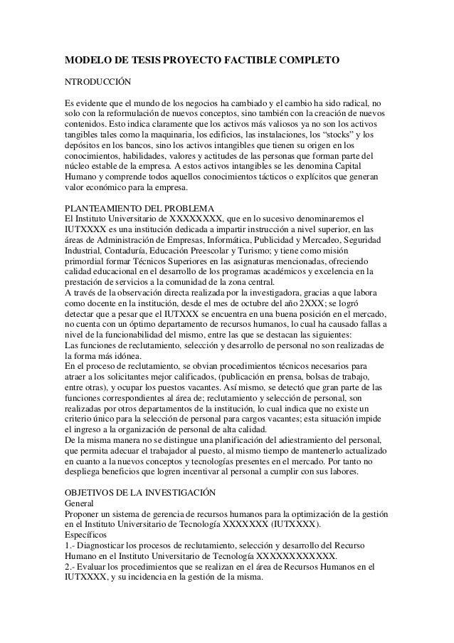 Modelo de tesis proyecto factible completo