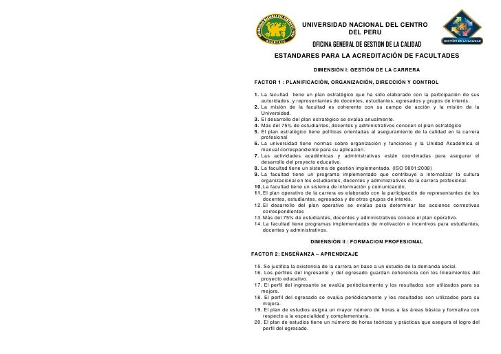 UNIVERSIDAD NACIONAL DEL CENTRO                                DEL PERU                         OFICINA GENERAL DE GESTION...