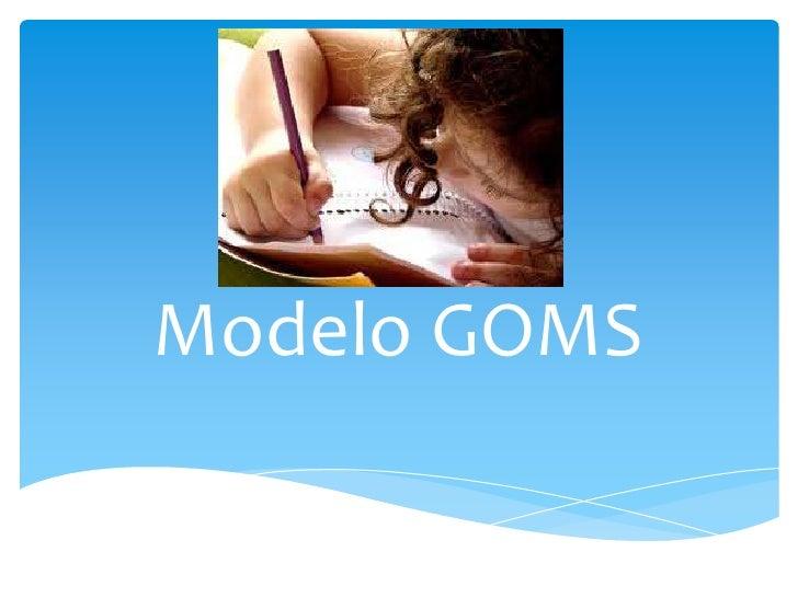Modelo GOMS<br />