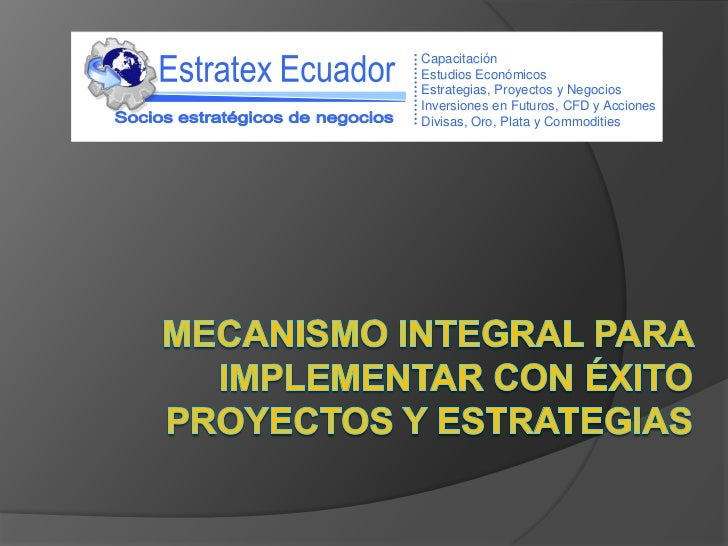 Modelo inversiones y proyectos estrategico resumido