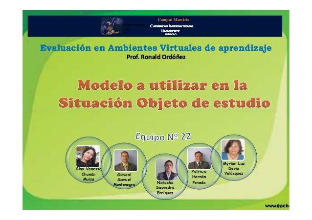 Modelo objeto de estudio grupo  22