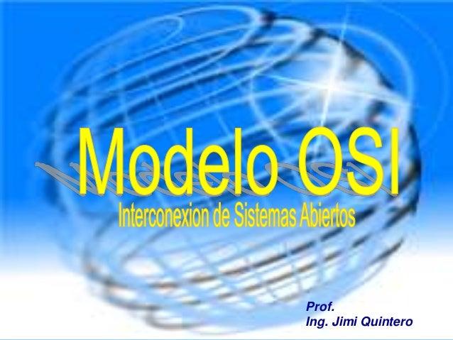 Prof.Ing. Jimi Quintero