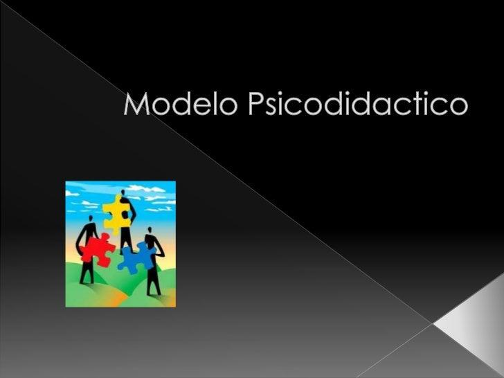 Modelo psicodidactico