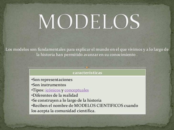 Modelos cientificos