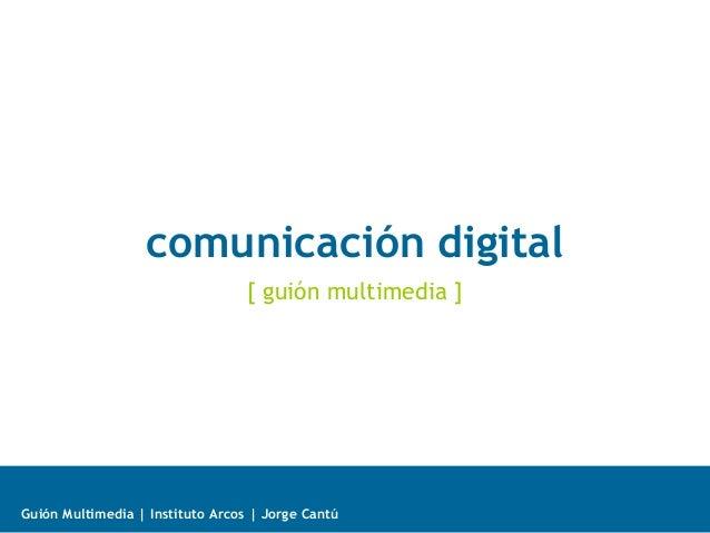 Modelos comunicación digital