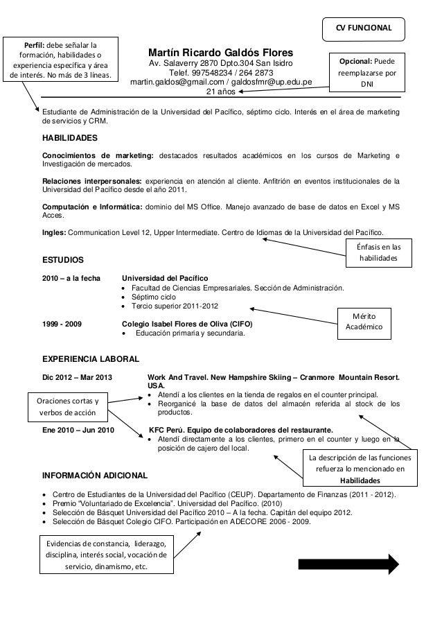 Martín Ricardo Galdós Flores Av. Salaverry 2870 Dpto.304 San Isidro Telef. 997548234 / 264 2873 martin.galdos@gmail.com / ...