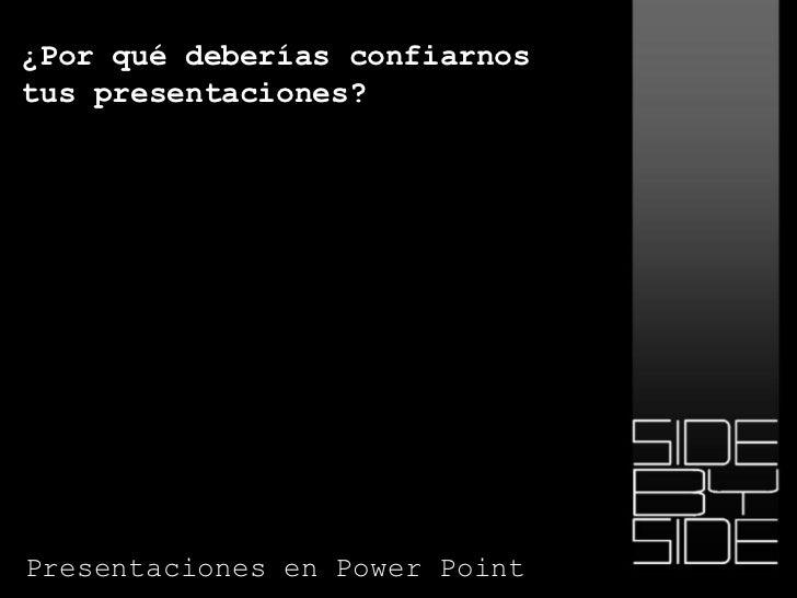 Modelos Presentaciones Power Point para Empresas