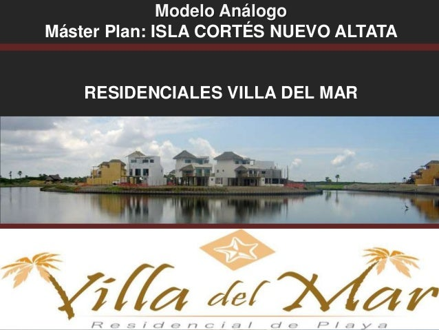 Modelos an logos for Mar villa modelo