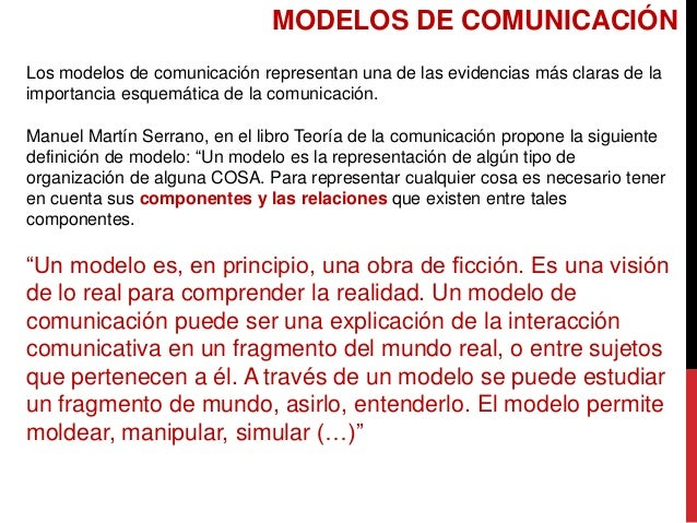 MODELOS DE COMUNICACIÓN Los modelos de comunicación representan una de las evidencias más claras de la importancia esquemá...