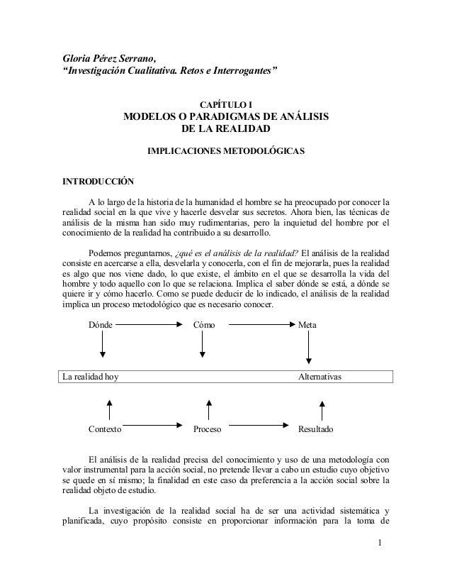 Modelos o paradigmas pdf perez serrano