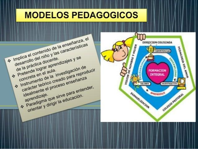 Modelo: Un grupo de conceptos y de larelaciones entre ellos, que corresponde            Pedagógico: es un saber relacionad...