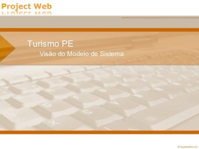 Apresentação Documento Visão - Turismo PE