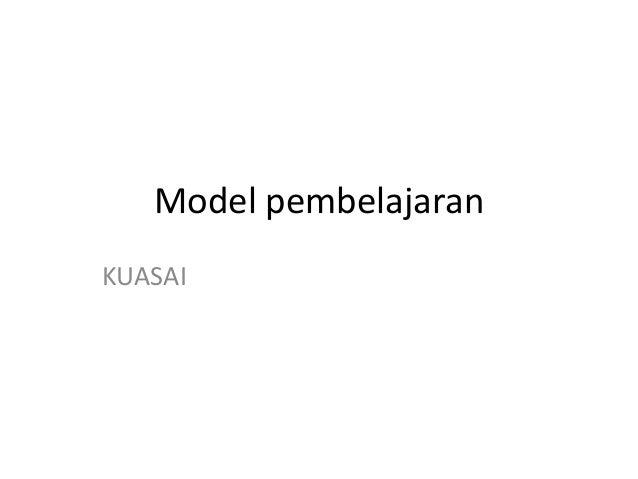 Model pembelajaran KUASAI