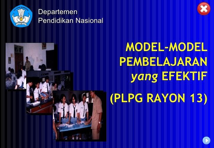 Model pembelajaran inovatif