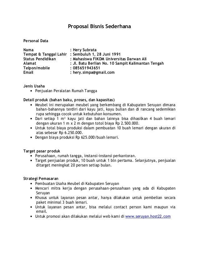 Model proposal bisnis_sederhana(1)