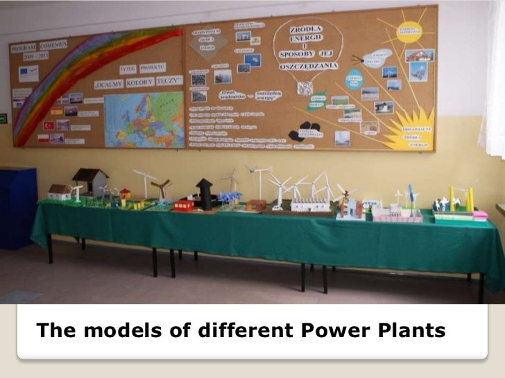 The models of different Power Plants<br />