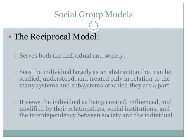 models of social group work pdf