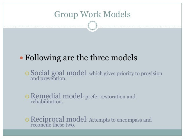 objectives of social group work pdf