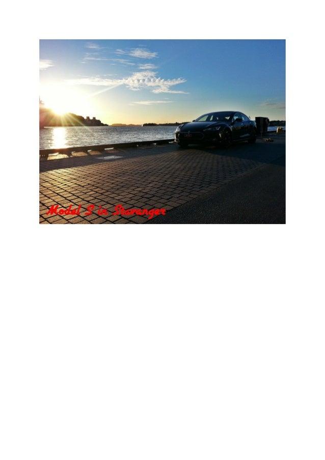 Model S in Stavanger 20.06.13
