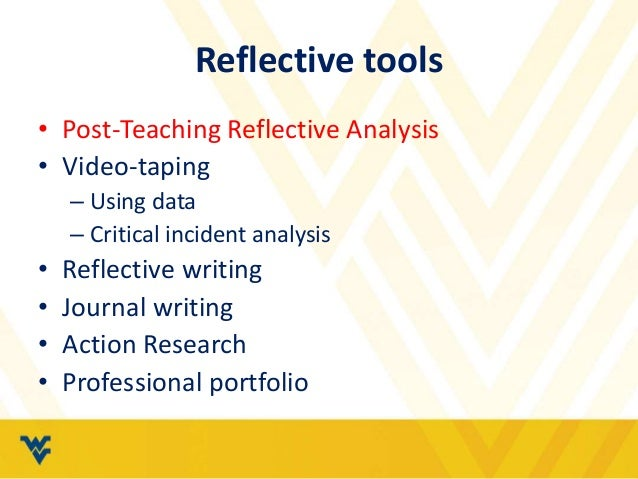 critical incident using johns model of reflection Content preview: models for structuring reflection contents « back next » example 3 - johns' model for structured reflection johns' model (johns, 2000.