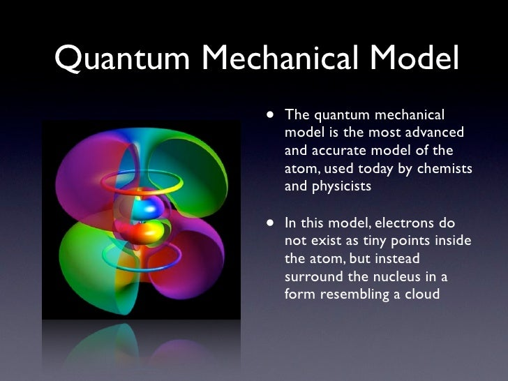 an analysis of the quantum mechanical model of the atom works and theory behind flame tests