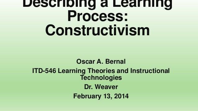 Module 3 assignment: Describing a Learning Process