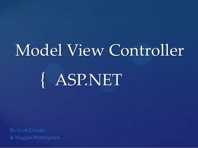 Model viewcontrolle
